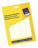 Etiketter i mappe