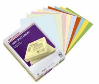 Kopipapir farvet