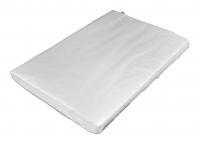Silkekardus hvid/lys grå 40x60cmx25g plano 960ark/pak