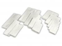 Bagerpose 1/4 kg hvid 140x175mm 1000stk/pak