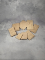 Papirpose m/sidefals 3kg brun 180/90x370mm 500stk/pak 50g