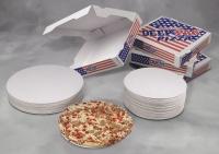 Pizzaæske Deep Pan 26X26X4,5cm 100stk/pak