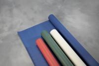 Bordpapir stof præg rød 1,20x50m