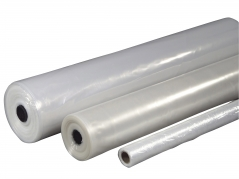 Plastik klar 2x50mx0,07mm Lux 6,4kg foldet 1 gang