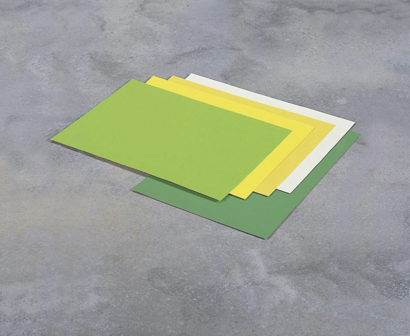 Image of   Skiltekarton grøn neon 50x70cm 10ark/pak 260g