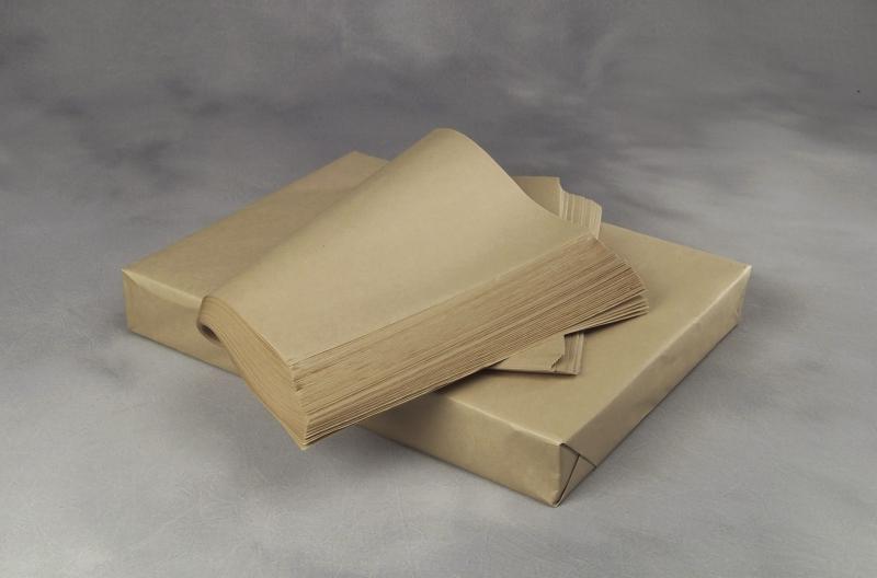 Billede af Papir kraft brun 40x60cmx40g plano 1000ark/pak 9,6kg