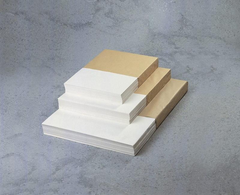 Billede af Pakkepapir ekstra glittet hvid 40x50cmx55g 10kg/pak