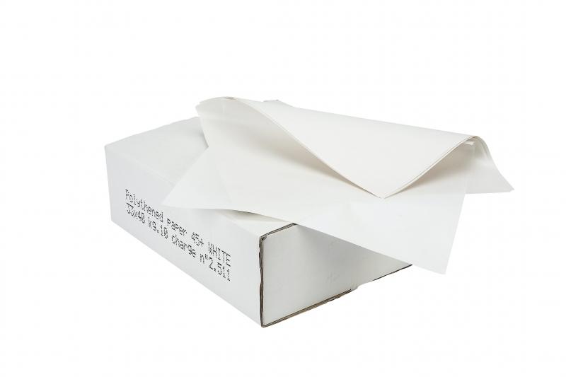 Image of   Sandwichpapir m/PE 37x50cm 10kg/pak hvid uden tryk