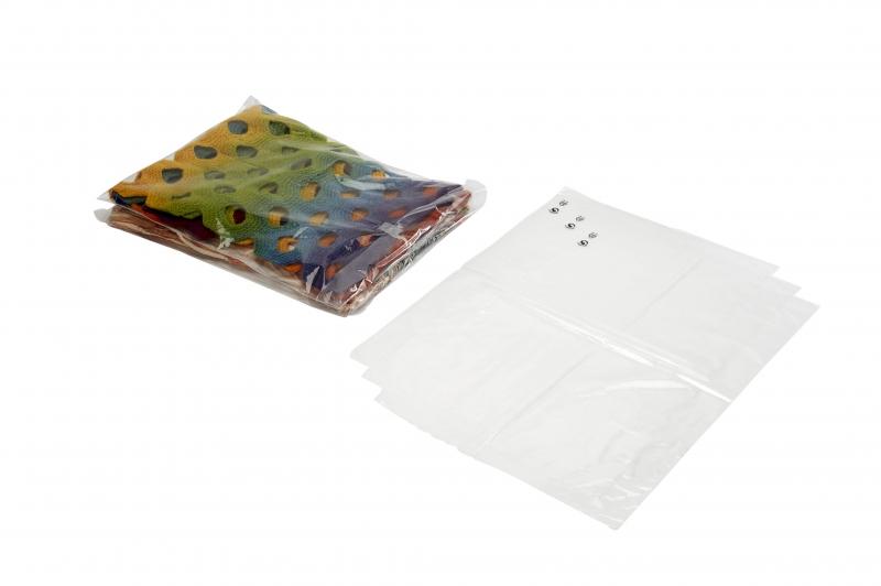 Billede af Plastikpose stabelfast 170x260+40x0,04mm 1200stk/kar