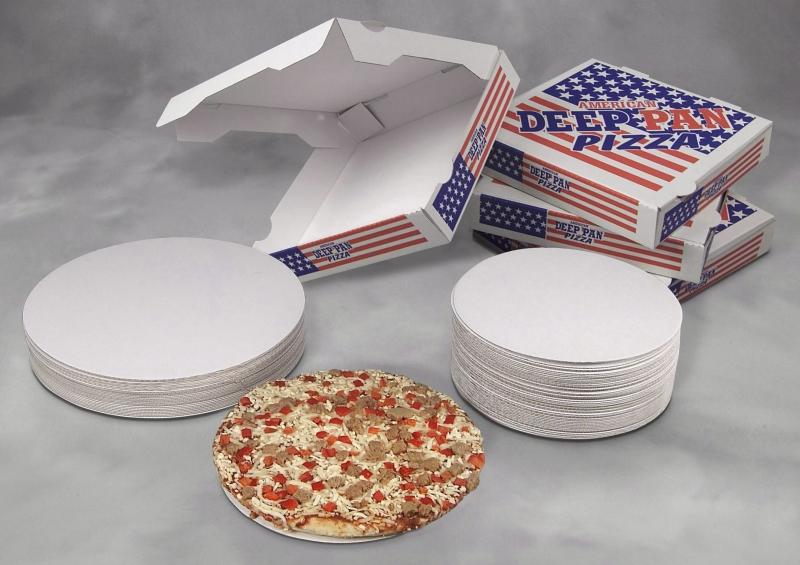 Billede af Pizzaæske Deep Pan 26X26X4,5cm 100stk/pak
