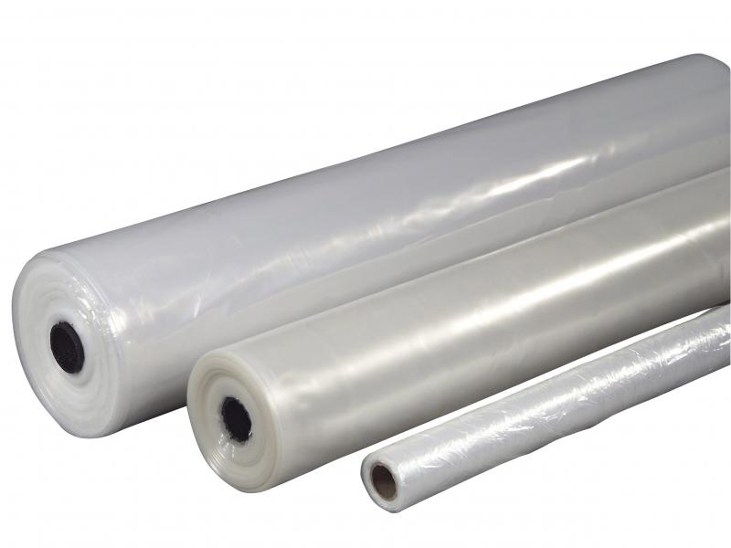 Billede af Plastik klar 2x50mx0,07mm Lux 6,4kg foldet 1 gang