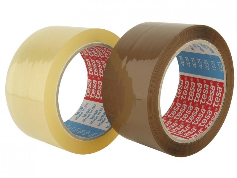 Image of   Tape tesa PP naturgummi klar 48mmx660m 4089