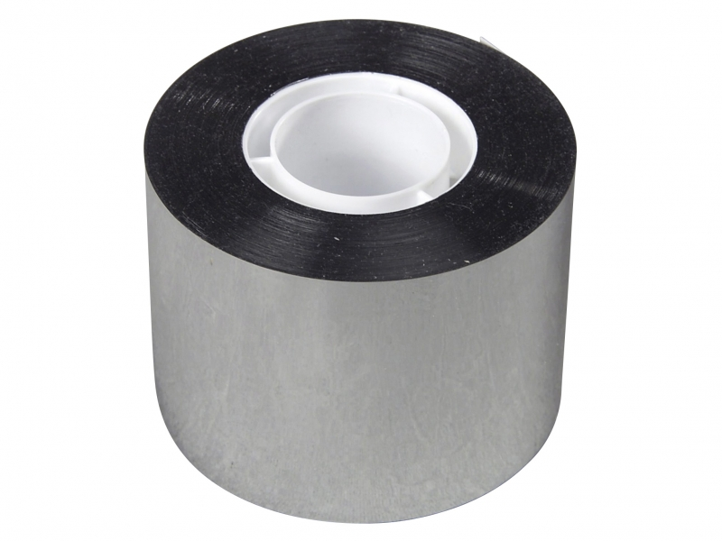 Image of   Tape PP metallis. sølv 48mmx50m kerne Ø25mm