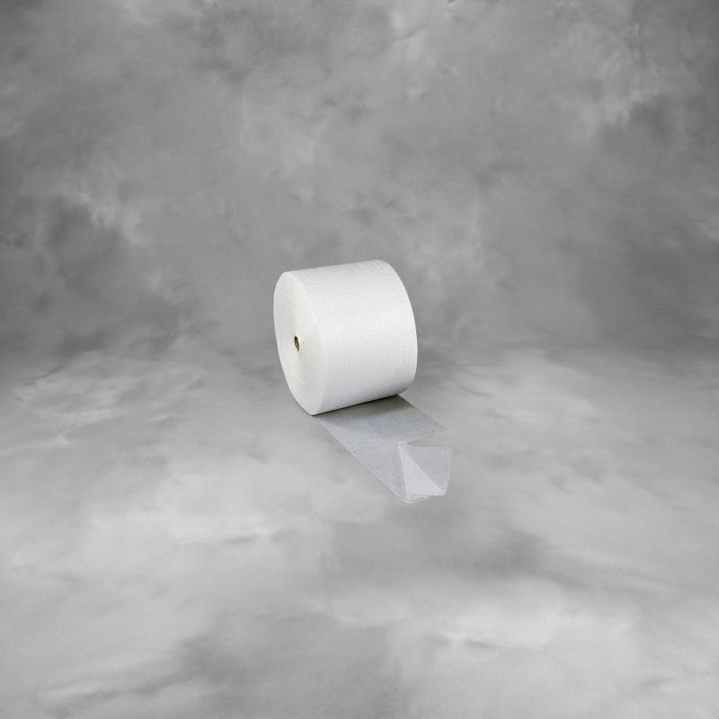 Foam 120cmx500mx0,8mm m/perf. hver 80cm