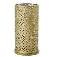 Lysestage, Duni Bliss, 14cm, Ø7,5cm, guld, metal *Denne vare tages ikke retur*