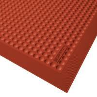 Aflastningsmåtte, Notrax Skystep, 90x60cm, rød, gummi *Denne vare tages ikke retur*