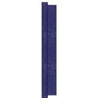 Rulledug, Dunisilk Circuits, 2500x120cm, blå, mørkeblå *Denne vare tages ikke retur*