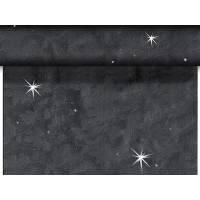 Kuvertløber, Sensia Brilliance, 2400x45cm, sort, glinsende effekt, perforeret for hver 1,2 m *Denne vare tages ikke retur*