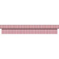 Dug, Dunicel Giovanni, 2500x125cm, rød *Denne vare tages ikke retur*