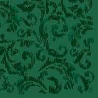 Middagsserviet, Dunilin Saphira, 1/4 fold, 40x40cm, mørkegrøn *Denne vare tages ikke retur*