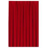 Bordskørt, Dunicel, 400x72cm, rød *Denne vare tages ikke retur*