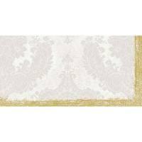 Stikdug, Dunicel Royal, 84x84cm, frosted hvid *Denne vare tages ikke retur*