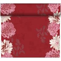 Kuvertløber, Dunicel Autumn Floral, 2400x40cm, mørkerød *Denne vare tages ikke retur*