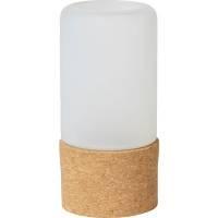 Lysestage, Duni Hope, 140mm, Ø70mm, hvid *Denne vare tages ikke retur*