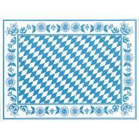 Dækkeserviet, Dunicel Bayernraute, 40x30cm, blå *Denne vare tages ikke retur*