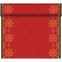 Kuvertløber, Dunicel Xmas Deco Red, 24x0,4m, rød *Denne vare tages ikke retur*
