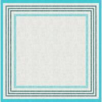 Stikdug, Dunicel Raya, 84x84cm, blå *Denne vare tages ikke retur*
