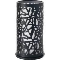 Lysestage, Duni Twist, 75x140mm, sort, metal *Denne vare tages ikke retur*