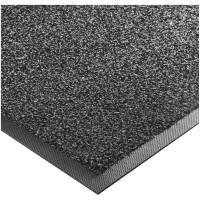 Tekstilmåtte med skrab, Kleen-tex, Super-Mat, 200x115cm, sort, nylon/nitril