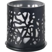 Lysestage, Duni Twine, 75x75mm, sort, metal *Denne vare tages ikke retur*