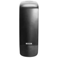 Dispenser, Katrin, 13x10x29,1cm, 1000 ml, sort, plast, til sæbe
