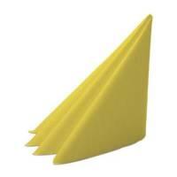 Middagsserviet, Dunilin, 1/4 fold, 40x40cm, gul *Denne vare tages ikke retur*