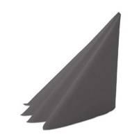 Middagsserviet, Dunilin, 1/4 fold, 40x40cm, granitgrå *Denne vare tages ikke retur*