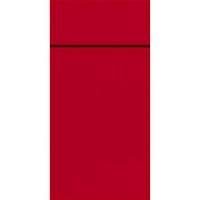 Bestikserviet, Duniletto Slim , 1/8 fold, 33x40cm, rød *Denne vare tages ikke retur*