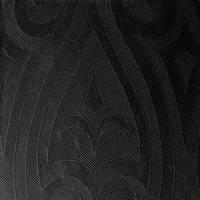 Middagsserviet, Duni Elegance Lily, 1/4 fold, 48x48cm, sort *Denne vare tages ikke retur*