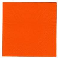 Frokostserviet, Bulkysoft, 2-lags, 1/4 fold, 33x33cm, orange, 100% nyfiber