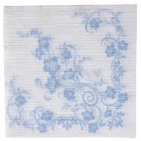Frokostserviet, Katja, 1-lags, 1/4 fold, 33x33cm, flerfarvet, papir