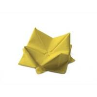 Frokostserviet, Duni, 1-lags, 1/4 fold, 33x33cm, gul, papir *Denne vare tages ikke retur*