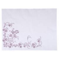 Dækkeserviet, Katja, 40x30cm, lilla, papir