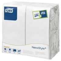 Middagsserviet, Tork Textured, 2-lags, 1/8 fold, 39x38cm, hvid, 100% nyfiber *Denne vare tages ikke retur*