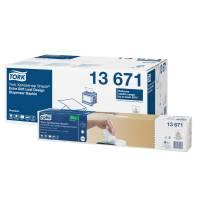 Dispenserserviet, Tork Expressnap N10 , 2-lags, interfold, 21,6x21,6cm, hvid, 100% nyfiber