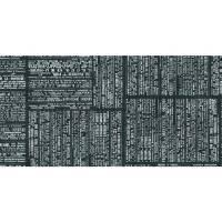 Stikdug, Dunisilk By the Sea, 84x84cm, sort *Denne vare tages ikke retur*
