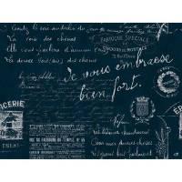 Dækkeserviet, Duni Le Bistro, 40x30cm, sort, papir *Denne vare tages ikke retur*