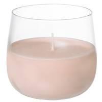 Lyslygte, Duni Ellie, 6,8cm, Ø7cm, sweet pink, 20 timer, glas *Denne vare tages ikke retur*