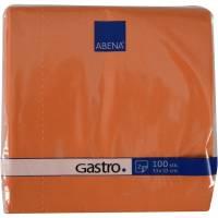 Frokostserviet, Bulkysoft, 2-lags, 1/4 fold, 33x33cm, orange