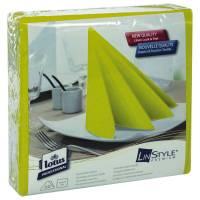 Middagsserviet, Tork Linstyle, 1/4 fold, 39x39cm, pistacie, 100% nyfiber *Denne vare tages ikke retur*
